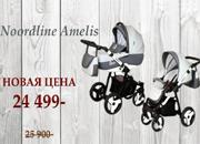 Детские универсальные польские коляски Noordline Amelis 2в1