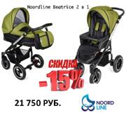 Детские универсальные польские коляски Noordline Beatrice 2в1