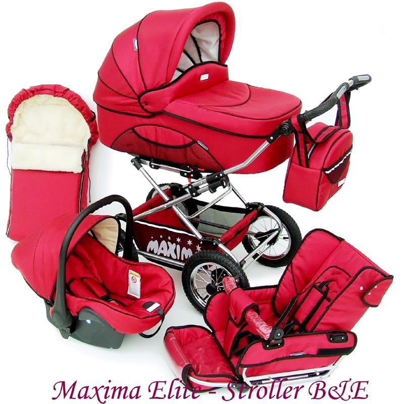Универсальная коляска maxima elite 3 в 1 все