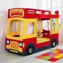 Детская двухъярусная кровать Milli Bus (Автобус)