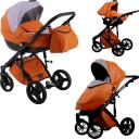 Универсальная коляска Lonex Comfort Gallaxy 3в1 (Эко-кожа)