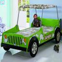 Детская кровать - джип Milli Willi Jeep Jungle