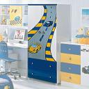Шкаф двустворчатый Milli Willi F1 Blue